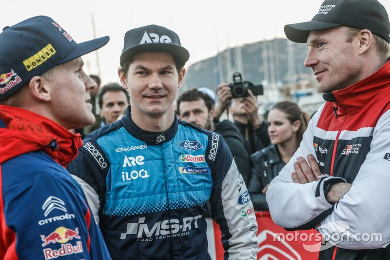 Teemu Suninen, M-Sport Ford WRT, Esapekka Lappi, Citroën World Rally Team, Jari-Matti Latvala, Toyota Gazoo Racing