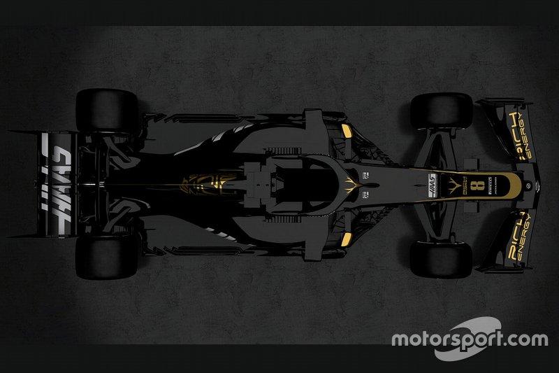Автомобиль Haas F1 Team VF-19
