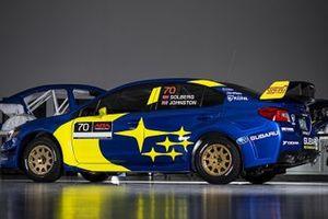 El Subaru de Oliver Solberg