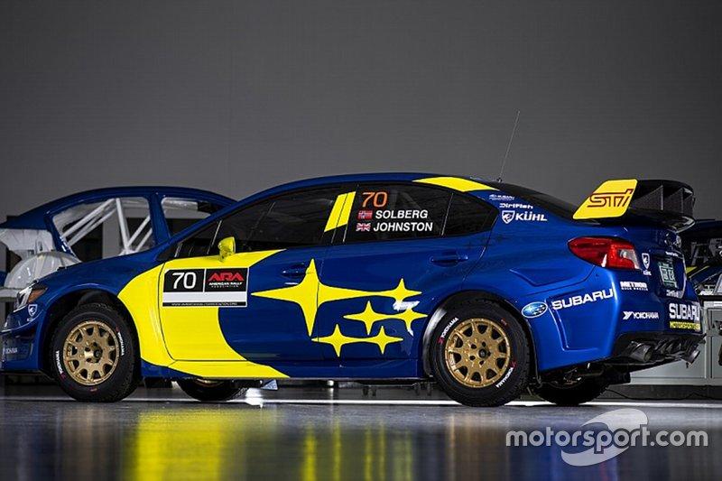 La Subaru di Oliver Solberg