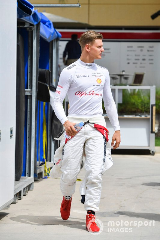 Mick Schumacher, Alfa Romeo Racing