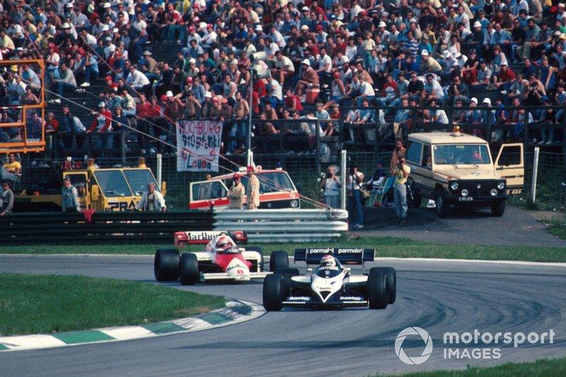 Nelson Piquet, Brabham BT53 BMW, Niki Lauda, McLaren MP4/2 TAG
