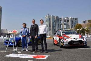 WRC日本ラウンドのテストイベント開催発表会