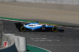 Robert Kubica, Williams FW42 spins