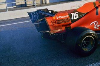 Шарль Леклер, Ferrari SF90: дым от силовой установки