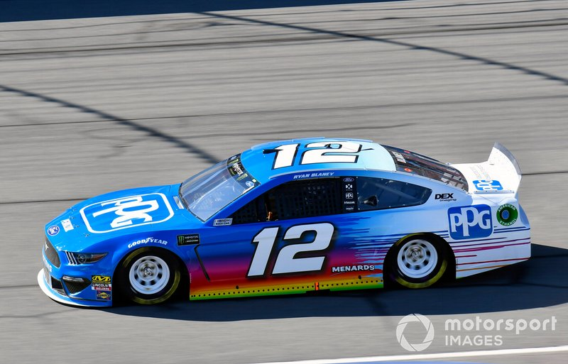 5. Ryan Blaney, Team Penske, Ford Mustang