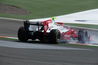 Sean Gelael, PREMA RACING Crashes