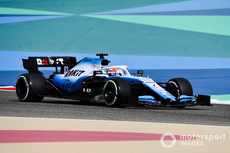 Джордж Расселл, Williams Racing FW42