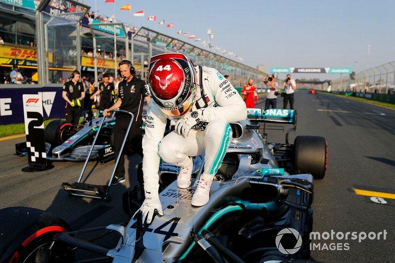 Australia 2019: Lewis Hamilton, Mercedes AMG F1 W10