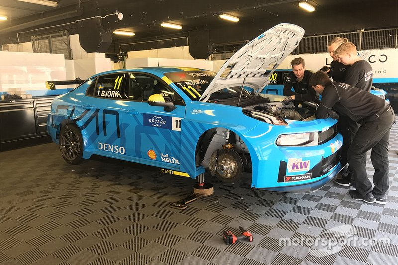 Thed Björk, Cyan Racing Lynk & Co Lynk & Co 03 TCR