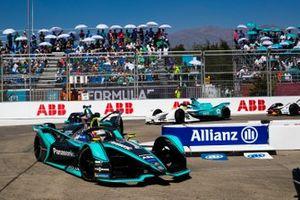Nelson Piquet Jr., Jaguar Racing, Jaguar I-Type 3 Gary Paffett, HWA Racelab, VFE-05, Oliver Turvey, NIO Formula E Team, NIO Sport 004