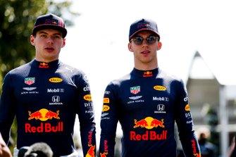 Max Verstappen, Red Bull Racing en Pierre Gasly, Red Bull Racing