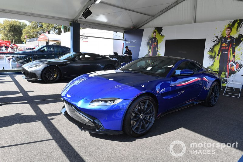 Aston Martin in Albert Park