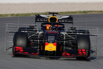 Pierre Gasly, Red Bull Racing RB15 with aero sensors