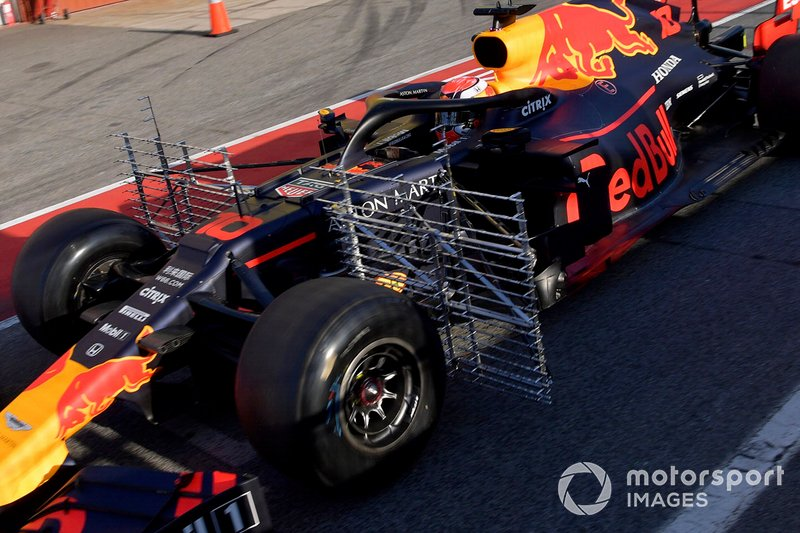 Red Bull Racing RB15 aero sensörleri