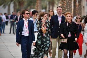 Эдоардо Мапелли Моцци, принцесса Беатриса Йоркская и Сара Фергюсон, герцогиня Йоркская