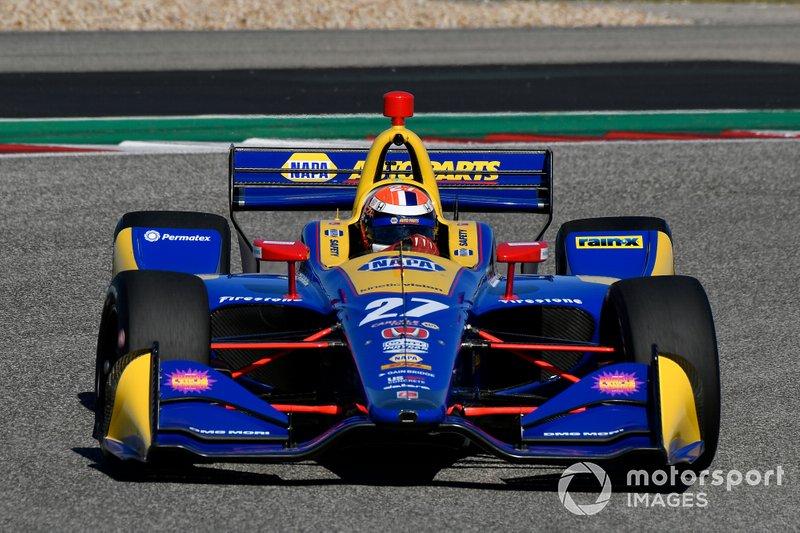 #27: Alexander Rossi, Andretti Autosport, Honda