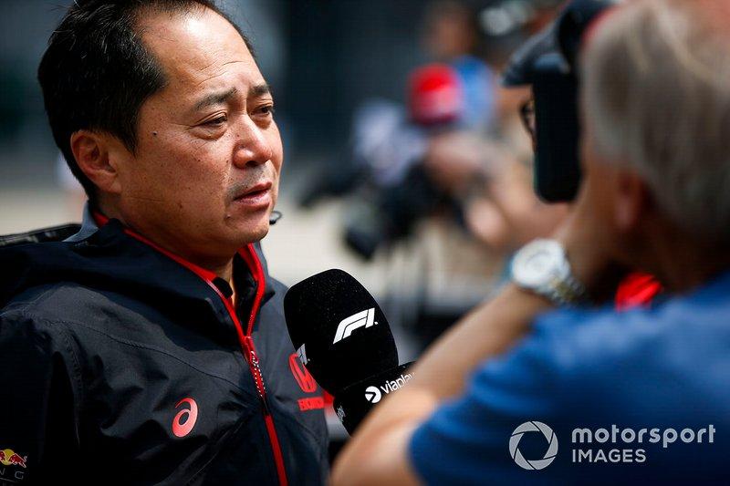 Toyoharu Tanabe, directeur technique F1, Honda