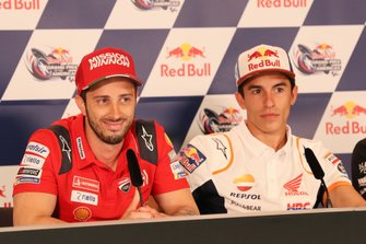 Andrea Dovizioso, Ducati Team, Marc Marquez, Repsol Honda Team, Press Conference