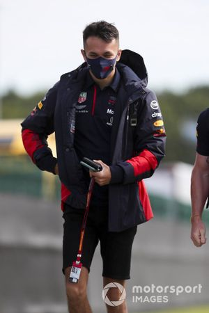 Alex Albon, Red Bull Racing arrives