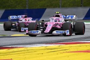 Lance Stroll, Racing Point RP20, Sergio Pérez, Racing Point RP20