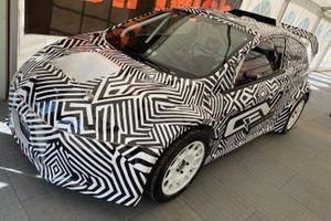 FIA Junior eRX rally car