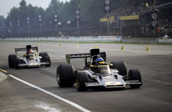 Ronnie Peterson, Lotus 72D, Emerson Fittipaldi, Lotus 72D