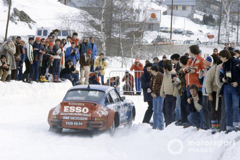 1980 Rally Monte Carlo: Hannu Mikkola, Arne Hertz, Porsche 911 SC Carrera