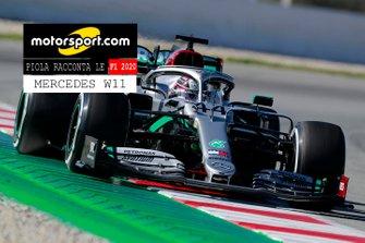 Copertina Report Piola Racconta le F1 2020: Mercedes W11