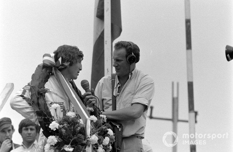En F1, Rindt logró seis victorias, 10 pole position y 13 podios