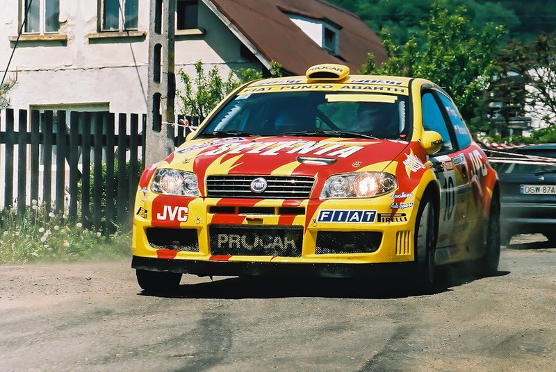 Sebastian Frycz, Maciej Wodniak, Fiat Punto S1600