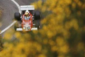 Nanni Galli, Ferrari 312B, during practice