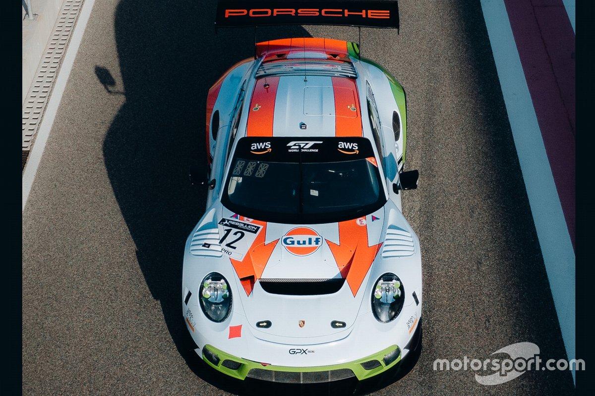 #12 GPX Racing, Porsche 911 GT3 R, Patrick Pilet, Mathieu Jaminet, Matt Campbell