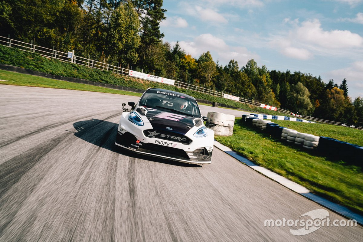 Stohl's ProjektE Ford Fiesta