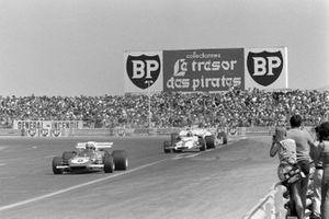 Clay Regazzoni, Ferrari 312B2, Pedro Rodriguez, BRM P160, GP di Francia del 1971