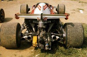 La parte trasera del nuevo Ferrari 312B1