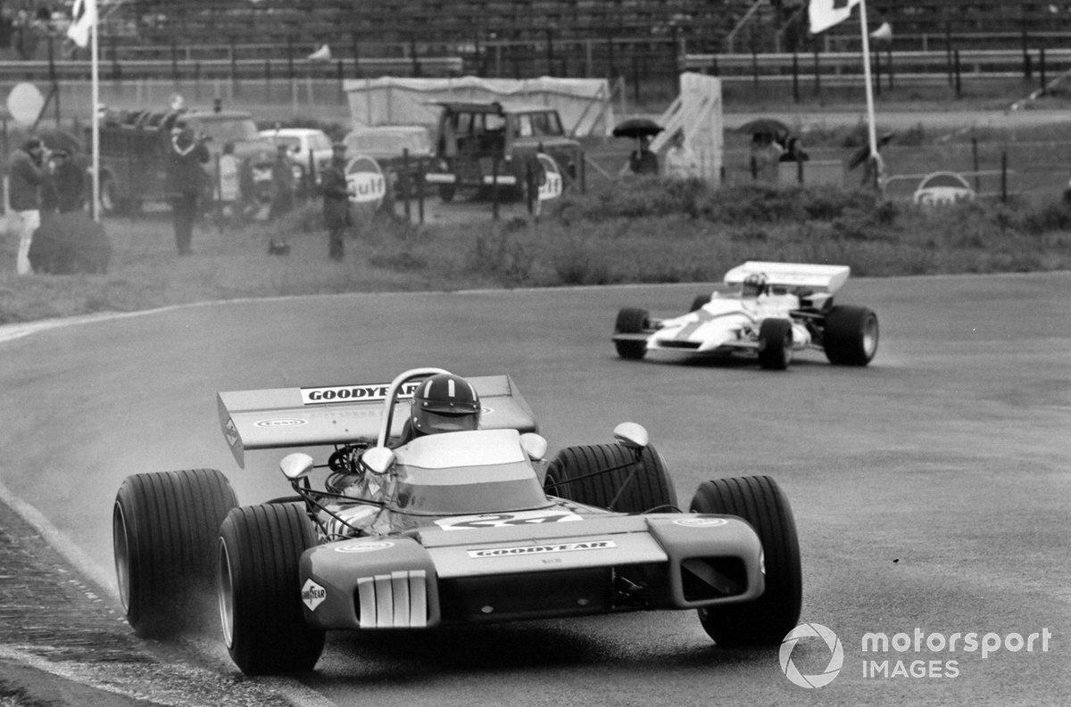 Graham Hill, Brabham BT34 Ford, Jo Siffert, BRM P160