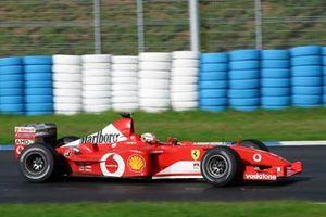 Лучано Бурти, Ferrari F2002