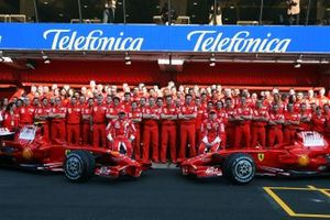 Ferrari team photo