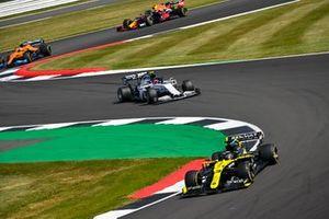 Daniel Ricciardo, Renault F1 Team R.S.20, Pierre Gasly, AlphaTauri AT01, Lando Norris, McLaren MCL35, and Alex Albon, Red Bull Racing RB16