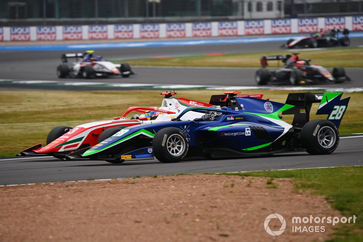 Logan Sargeant, Prema Racing y Cameron Das, Carlin