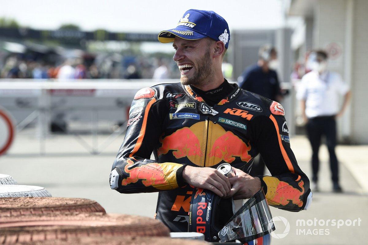 Il vincitore della gara Brad Binder, Red Bull KTM Factory Racing