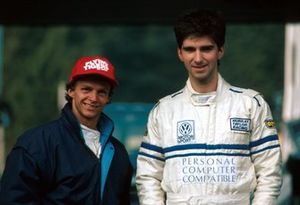 Damon Hill, Murray Taylor Racing Ralt with Jan Lammers