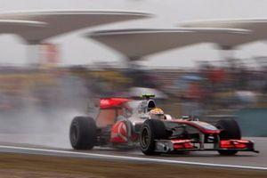 Lewis Hamilton, McLaren MP4-25 Mercedes