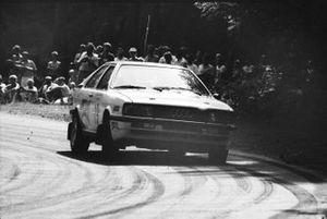 Paweł Przybylski, Krzysztof Gęborys, Audi Coupe Quattro