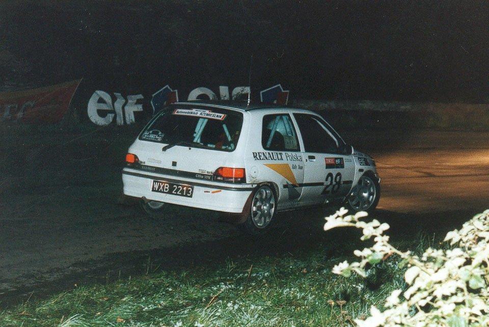 Bogdan Herink, Barbara Stępkowska, Renault Clio Williams