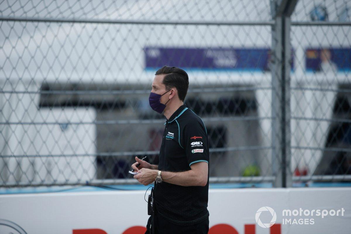 James Barclay, Director de Panasonic Jaguar Racing