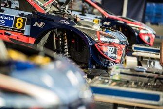 Car of Ott Tänak, Martin Järveoja, Hyundai Motorsport Hyundai i20 Coupe WRC