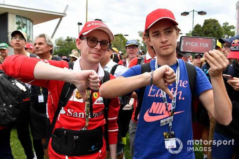 Los fans muestran su reacción a la noticia de la cancelación del Gran Premio