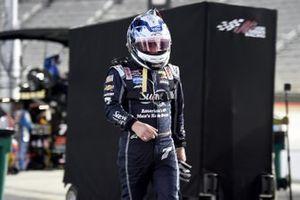 Justin Allgaier, JR Motorsports Chevrolet se sale de la pista después de un incidente